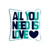 ModShop All You Need Is Love Pillow