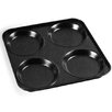 Zodiac Stainless Products 23cm Non Stick Square Metal Yorkshire Pud Tin in Black