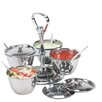 Zodiac Stainless Products Relish 80cm Stainless Steel 4 Bowl Server