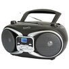 Supersonic CD MP3 AM FM Boombox