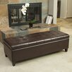 Home Loft Concept Edmond Storage Ottoman with Tray