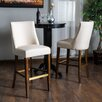 "Home Loft Concept Harman 30.6"" Bar Stool with Cushion (Set of 2)"