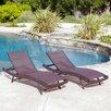 Home Loft Concept Kauai Textilene Chaise Lounge (Set of 2)
