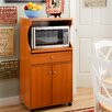 Andover Mills Wythe Microwave Cart