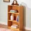 Andover Mills Calvert 3-Shelf Bookcase