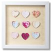 Graham & Brown Graham and Brown Hearts Corsage Framed Graphic Art