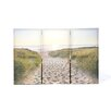 Graham & Brown Graham and Brown Beach Walk Three Piece Photographic Print on Canvas (Set of 3)