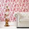 <strong>Graham & Brown</strong> Barbara Hulanicki Flock Shoes Flocked Wallpaper