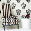Graham & Brown Barbara Hulanicki Antoinette Figural Flocked Wallpaper
