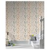 Graham & Brown Serenity Berries Floral Botanical Foiled Wallpaper