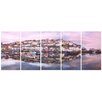 <strong>Graham & Brown</strong> Graham and Brown Brixham Harbour 5 Piece Photographic Print on Canvas Set