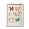 Graham & Brown Graham and Brown Butterflies Framed Graphic Art
