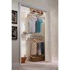 "EZ Shelf from Tube Technology 11.75"" Deep Closet Organizer Kit"