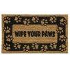 Bacova Guild Koko Natural Paws Doormat