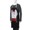 <strong>Attitude Aprons by L.A. Imprints</strong> Tuxedo Apron in Black