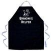 Attitude Aprons by L.A. Imprints Grandma's Helper Apron in Black