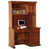 Forest Designs Credenza Desk with Pencil Drawer