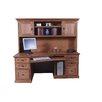 Forest Designs Angled Computer Desk