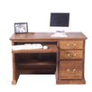 Forest Designs Computer Desk with Keyboard Pullout