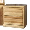 Forest Designs 2 Drawer Nightstand