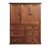 Forest Designs 6 Drawer Armoire