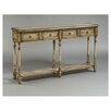 Pulaski Furniture Rustic Chic 2 Drawer Console Table