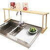 Home Basics Over Sink Shelf I