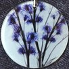 Radiant Art Studios X-ray Designs Flower Frosted Glass Ornament