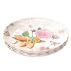 Shall Housewares International Rose Ruffle Serving Tray (Set of 4)