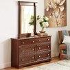 Three Posts Sutton 6-Drawer Dresser