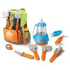 Berry Toys Little Explorer 9-Piece Camping Backpack Play Set