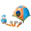 Berry Toys Little Explorer 5 Piece Camping  Play Set with Tent
