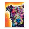 American Flat Heart up Pit by Dean Russo Wall Art