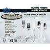 Johnson Rose Corporation Atlantis 20 Piece 18 Stainless Steel Flatware Set