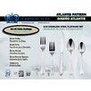 Johnson Rose Corporation Atlantis 30 Piece 18 Stainless Steel Flatware Set