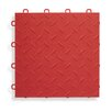 "BlockTile 12"" x 12""  Garage Flooring Tile in Red (Set of 27)"
