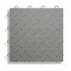 "BlockTile 12"" x 12""  Garage Flooring Tile in Grey (Set of 27)"