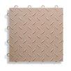 "BlockTile 12"" x 12""  Garage Flooring Tile in Beige (Set of 27)"