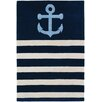 <strong>Tufted Pile Blue Sailor Rug</strong> by Thomas Paul