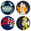 "Thomas Paul Amalfi 11"" Dinner Plate (Set of 4)"
