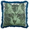 "<strong>Thomas Paul</strong> 18"" Cat Pillow"