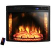 "AKDY 28"" Curved Electric Fireplace Insert"