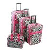 All-Seasons Vacation 4 Piece Luggage Set