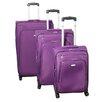 Dejuno Alliance 3 Piece Luggage Set I