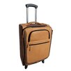 "Canyon Outback Leather Switzer 22"" Carry On Spinner Suitcase"