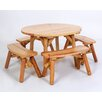 <strong>Moon Valley Rustic</strong> 5 Piece Dining Set