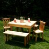 <strong>Nicholas Kids' Table and Chair Set</strong> by Moon Valley Rustic