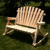 <strong>Settee Rocker</strong> by Moon Valley Rustic