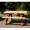 Moon Valley Rustic Nicholas Kids Picnic Table