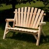 Moon Valley Rustic Garden Bench